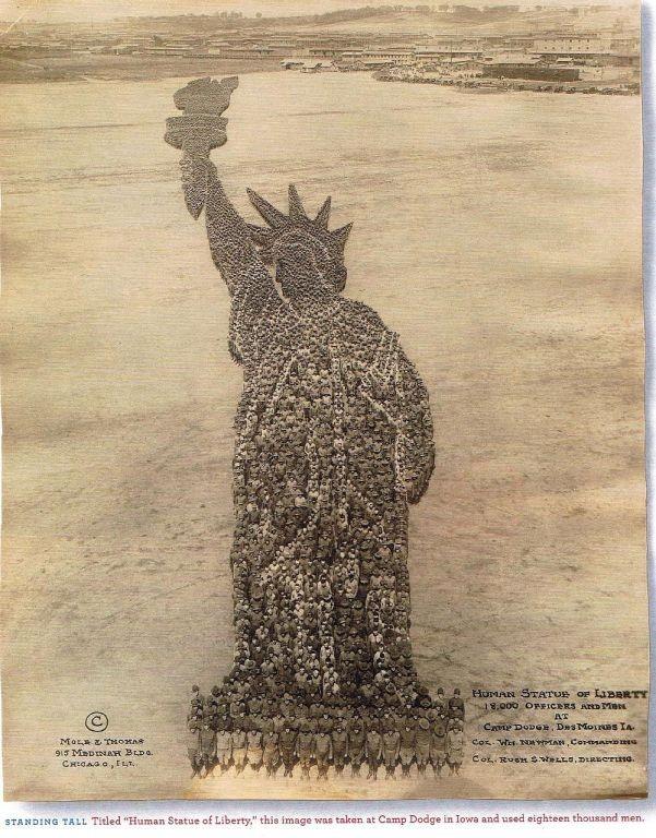 1918-human-statue-of-liberty