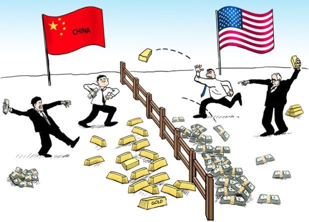 China-Gold-USA-Fiat-Currency