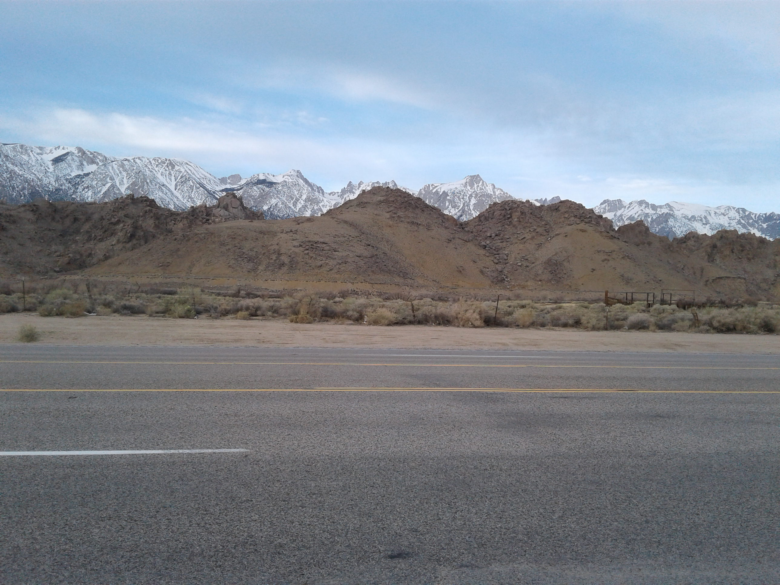 01 - Travel to Lone Pine CA - 2017-03-10
