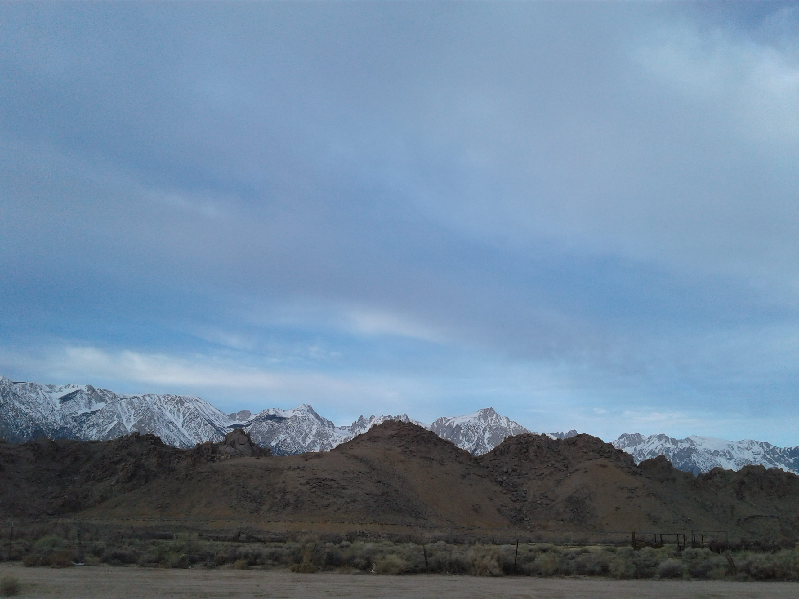 02 - Travel to Lone Pine CA - 2017-03-10