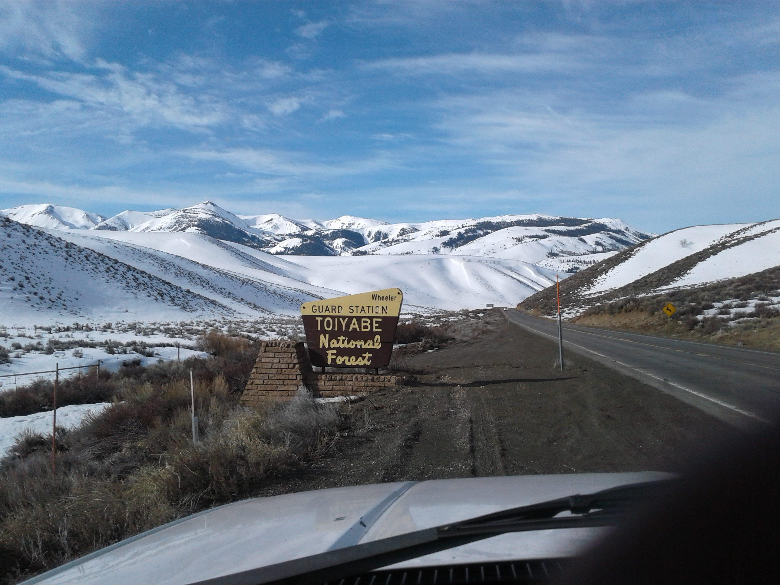 07 - Lee Vining Toiyabe National Forest